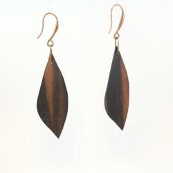 """Modèle """"Feuille bicolore cuivre"""""""